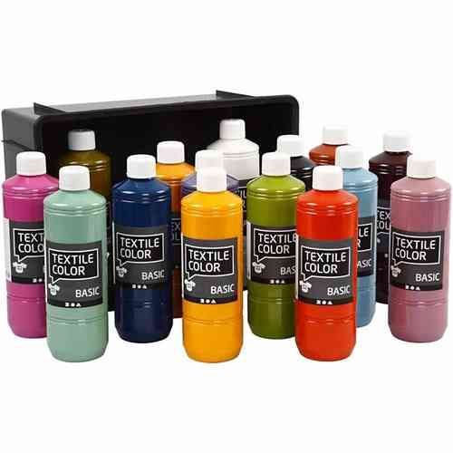 Textil Color, Sortiment, Trendfarben, 15x500 ml
