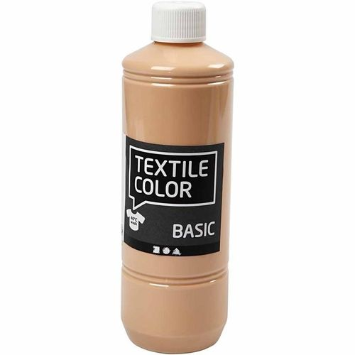 Basic Color Textilfarbe Stoffmalfarbe 500ml Haut