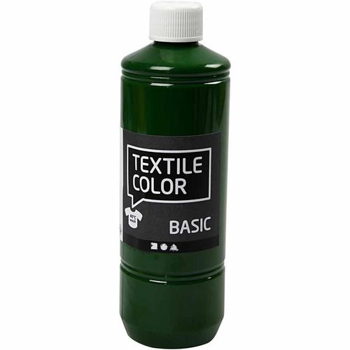 Basic Color Textilfarbe Stoffmalfarbe 500ml Grassgrün