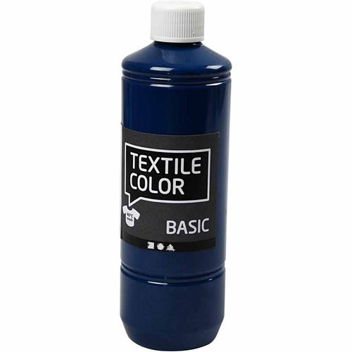 Basic Color Textilfarbe Stoffmalfarbe 500ml Türkis