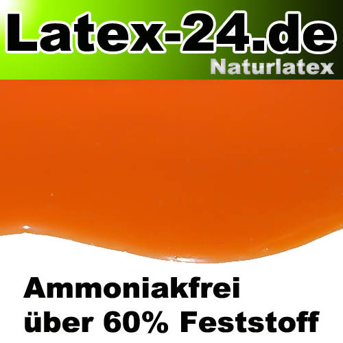 Flüssiglatex Orange Ammoniakfrei   100ml