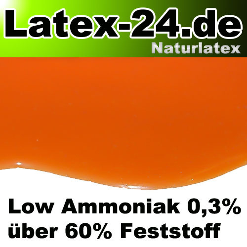 Flüssiglatex Orange Low Ammoniak 100ml