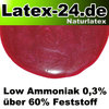 Flüssiglatex Rot Metallic Low Ammoniak