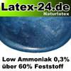 Flüssiglatex Blau Metallic Low Ammoniak