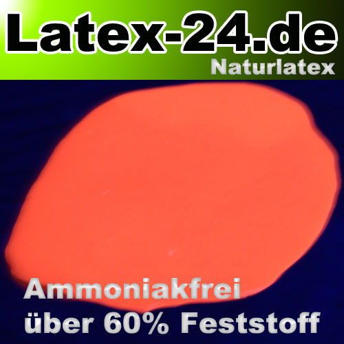 Flüssiglatex Neon Orange Ammoniakfrei 100ml