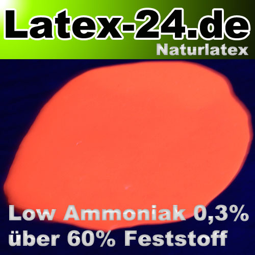 Flüssiglatex Neon Orange Low Ammoniak 100ml