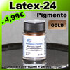 Metallpulver 20ml Farbpigmente Gold