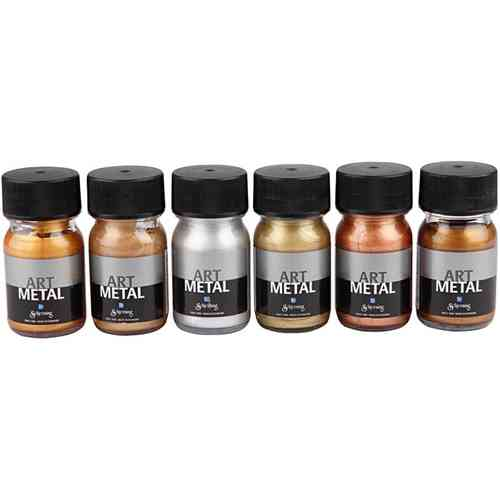 Art Metal Metallic 6 x 30ml Sortiment