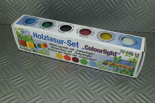 Holzlasur Set Colourlight 6 X 50ml