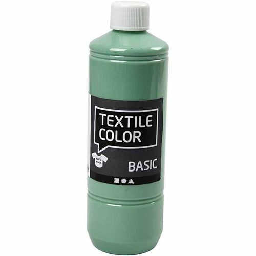Basic Color Textilfarbe Stoffmalfarbe 500ml See Grün