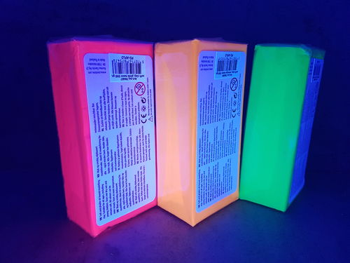 Soft Clay Neon 3 x 500g Set